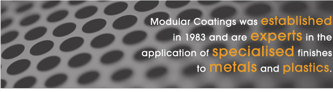 Established in 1983 - Modular Coatings